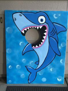 Baby Shark Party- Baby Shark Birthday- Shark Photo Prop- Baby Shark Photo Booth- Baby shark Photo Op- Shark Standee- Shark Stand In- Shark Birthday Photo Booths, Birthday Photos, Birthday Fun, 1st Birthday Parties, Birthday Party Decorations, Cake Birthday, Shark Photos, Photos Booth, Party Props