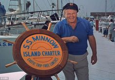 The Skipper, who Alan Hale Jr immortalized for the small screen...