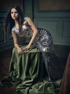 Selena Gomez | Mark Seliger's Vanity Fair Oscar Party Portrait Studio