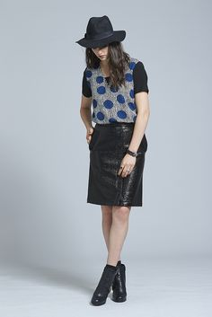 """Our """"Sweet Chaos Shirt"""" is cut with a loose fit for comfort and style, the keyhole detail with buckle strap at the back neck creates a tough but sweet look.Elegant rebellion watch out. Sequin Skirt, Women Wear, Winter, Sweet, Skirts, How To Wear, Clothes, Style, Fashion"""