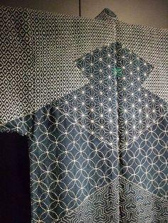 Lumberman's Sashiko Japan Edo Period 1780 indigo dyed hemp and cotton 2