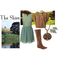 """Lord of the Rings/ The Hobbit-  """"The Shire"""" by companionclothes on Polyvore"""