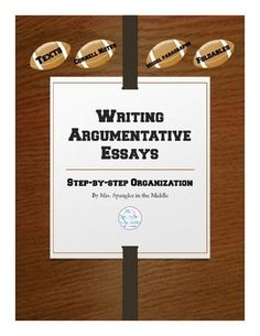 If you have special needs students in your general education classroom, chances are they need very structured, step-by-step instructions on writing argumentative essays.  This product focuses on the organization of argumentation essays and explains how to write that essay based on text along with Cornell Notes and foldables!