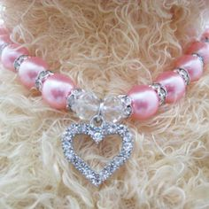 Cheap dog cat, Buy Quality cat pearl necklace directly from China pet pendants Suppliers: Dog Cat Pearls Necklace Collar rhinestones Love Charm Pendant Pet Puppy Jewelry 5 sizes 3 acolours Pink Pearl Necklace, Dog Necklace, Pearl Pendant Necklace, Collar Necklace, Pendant Jewelry, Dog Jewelry, Animal Jewelry, Heart Jewelry, Moda Animal