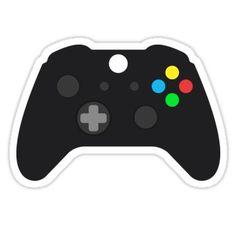 Video Game Console Gamepad Sticker