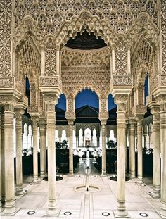 La Alhambra (Granada, Andalusia, Spain)......another place I want to re-visit More Islamic Architecture, Beautiful Architecture, Beautiful Buildings, Beautiful Places, Wonderful Places, Beautiful Pictures, Alhambra Spain, Andalusia Spain, Spiritual Photos