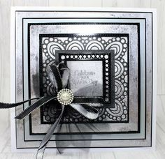We are counting down the hours until John Lockwood is on HOCHANDA, with another installment of the latest release of Creative Expressions Craft Dies by Sue Wilson!  John will be showcasing our newest Country Collection; Atlantic Ocean.  Tune in tonight for this One Day Special at 8pm! Sue Wilson Dies, Black N White, Atlantic Ocean, Hobbies And Crafts, Wedding Cards, Paper Art, Birthday Cards, Clever, Card Making