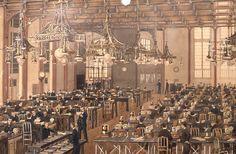 Central télégraphique de Paris Grenelle Schils 1889  © L'Adresse Musée de La Poste / La Poste, DR.