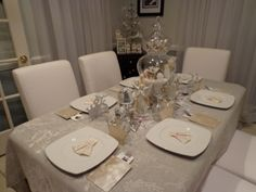I combined our Alice in Wonderland tea party with all that glitters to kick off our holiday season.