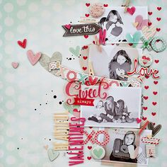 Beautiful Valentines by Corrie Jones for Crate Paper