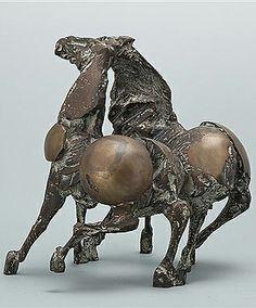 Nag Arnold Horse Sculpture, Modern Sculpture, Bronze Sculpture, Sculpture Projects, Equine Art, Horse Art, Art Dolls, Sculpting, Cool Art