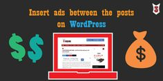 How to place ads in post content without plugin : WordPress