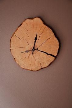 Handarbeit aus Holz Wanduhr WC002 BITTE BEACHTEN SIE: Da jedes Stück Holz ist einzigartig, die Veranstalter, die Sie erhalten werden, ähnlich aber nicht identisch mit dem Foto.