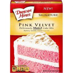 Duncan Hines Pink Velvet Cake Mix 16 OZ (453g)