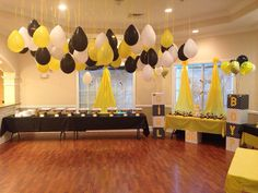 My Gender reveal what will it Bee theme baby shower.