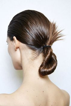 A New Take On A Ponytail!! Sleek -- Neat -- A Great Option For Updos!!