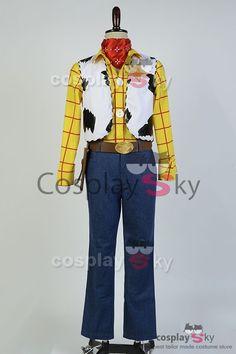 Disney Toy Story Sheriff Woody Cowboy Outfit Cosplay Kostuem | CosplaySky.de