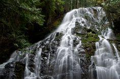 Ramona Falls in Oregon