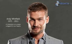 Andy Whitfield was a British actor. He was best known for his leading role in the Starz television series Spartacus: Blood and Sand. His acting skills were amazing and he is very good looking.