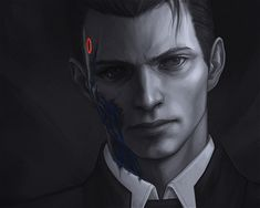 Detroit become human Connor By: Vrihedd