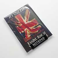 """""""It's our flag"""" size notepad contains approximately 60 blank pages. A6 Size, Book Gifts, Flag, Books, Aussies, Libros, Book, Science, Book Illustrations"""