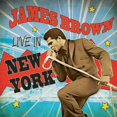 James Brown - Live in New York on Limited Edition Colored LP (Awaiting Repress)