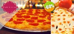 El Patio de mi Casa - $72 pesos instead of $180 for 1 Wood-fired Pepperoni, 4-Cheese or Octopus Pizza + 1 Glass of House Wine or 1 Lemonade! Click