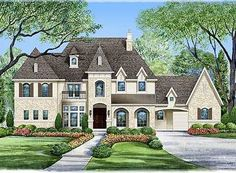 Grand Impression - 36176TX | 1st Floor Master Suite, Butler Walk-in Pantry, CAD Available, Corner Lot, Courtyard, Den-Office-Library-Study, European, French Country, Luxury, MBR Sitting Area, Media-Game-Home Theater, PDF | Architectural Designs