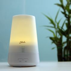 Shalu Aromatherapy Essential Oil Diffuser Cool Mist Humidifier with Timer & LED Lights, 100 ml
