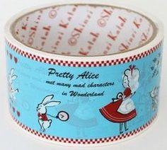 Deco Tape Shinzi Katoh Alice in Wonderland