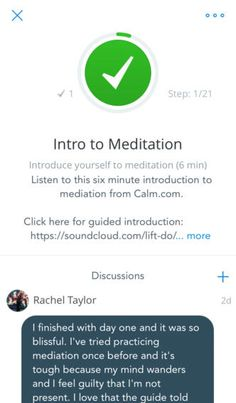 Lift - Daily Motivation By Lift Worldwide ios iphone app