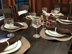 10 DIY Bastelideen für festliche Tischdeko  - #DIY-Doityourself, #DIYDeko, #Selbermachen