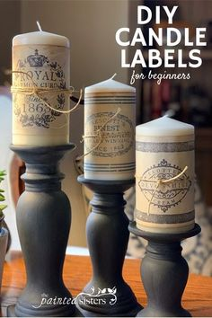 Take your candle making to the next level with this step-by-step video on how to make your own candle labels. If you're looking for easy, homemade candle label ideas, check out this post!