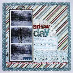 Snow Day - Scrapbook.com