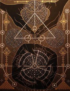 Sacred geometry - Joma-Sipe click to see more artwork....>
