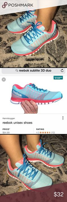 b0605fdbbb07ac 💥NEW Reebok Sublite 3D Duo💥 Previously I was posted my USED pair of 👟