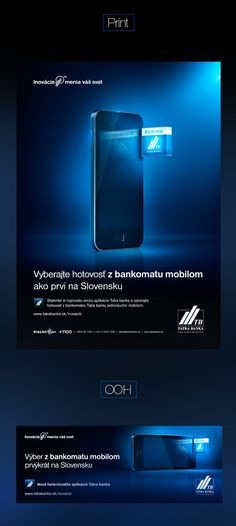 Tatra Banka I ATM Phone campaign