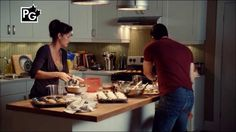 Rookie Blue - 3x06 - Sam and Andy baking