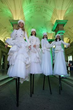 The Wrong Size - Various Stilt Walkers
