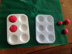 Hands-on activity to practice alphabet and counting skills with young braille learners