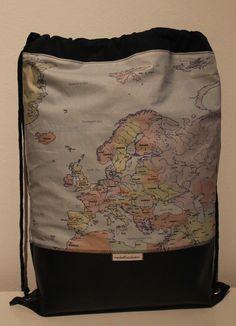 Beutel+/+Rucksack+/+Tasche++**Weltreise**+von+nahtSachen+auf+DaWanda.com                      Für alle, die das Fernweh packt