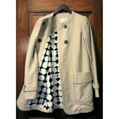 $1072 A.L.C. Retro Silk Lined Khaki Trench Coat Needs a dry cleaning. Dry clean only. 100% cotton w/100% silk lining. Open to offers. A.L.C. Jackets & Coats Trench Coats