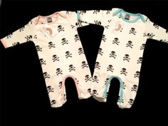 unisex punk baby clothes | ... Baby Sleep Suit, Punk Romper, Punk Rock Baby,Skull Baby Clothing,Unise