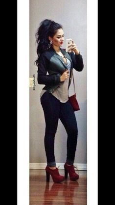 Likes, 62 Comments - Maria Palafox Mode Outfits, New Outfits, Stylish Outfits, Fashion Outfits, Womens Fashion, Fall Winter Outfits, Spring Outfits, Look Fashion, Autumn Fashion