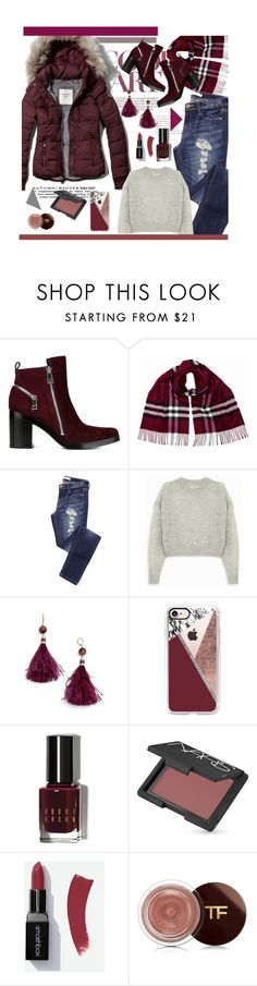 """""""Oh Lady!"""" by bamaannie ❤ liked on Polyvore featuring Abercrombie & Fitch, Kenzo, Burberry, Acne Studios, Kate Spade, Casetify, Bobbi Brown Cosmetics and NARS Cosmetics"""