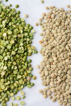 I remember this one time I didn't label my purchases from the bulk bin, and I couldn't remember what was in the bag: were they split peas or lentils? These cute little dried legumes are both healthy and delicious, but it's worth knowing their varieties and differences. Read on to find out more!