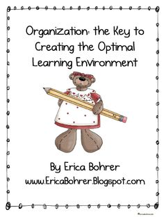 Get Your Classroom Organized This Year!