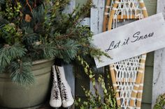 Northwoods Winter Front Porch - Holiday Designs - Decorating Ideas - HGTV Rate My Space