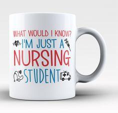 I'm Just a Nursing Student - Mug