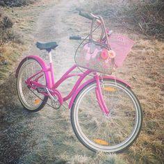 Pink Electra bike